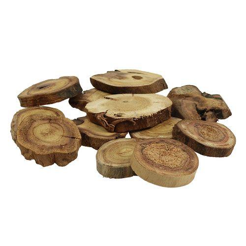 Holzscheiben natur 6-8cm 500g