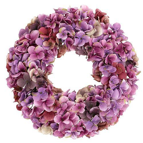 hortensienkranz 35cm violett lilla kaufen in schweiz. Black Bedroom Furniture Sets. Home Design Ideas