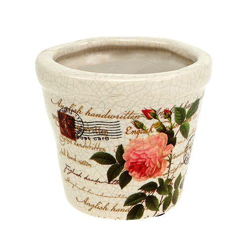 Keramik Topf mit Rosen Ø8,5cm H7,5cm kaufen in Schweiz