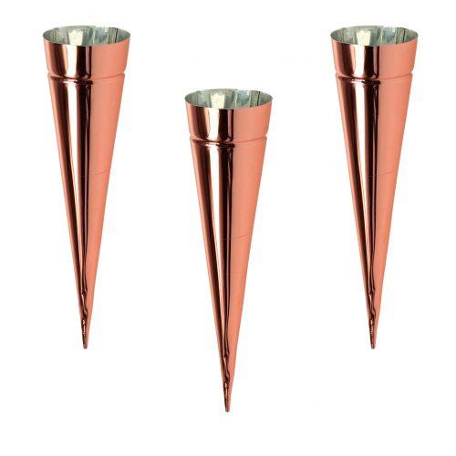 Kerzenhalter Kupfer Ø4,5cm H14cm 8St