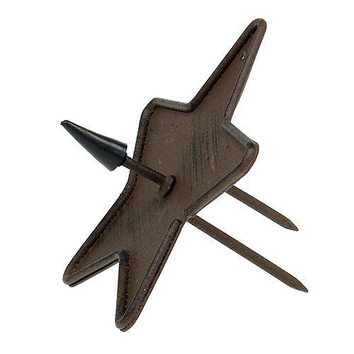 kerzenhalter stern zum stecken 9cm braun kaufen in schweiz. Black Bedroom Furniture Sets. Home Design Ideas