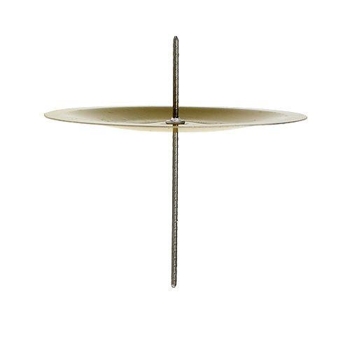 kerzenhalter mit dorn gold 6cm 36st kaufen in schweiz. Black Bedroom Furniture Sets. Home Design Ideas