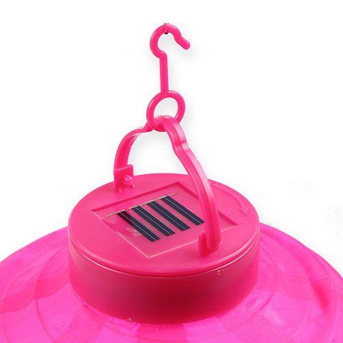 lampion led mit solar 20cm pink kaufen in schweiz. Black Bedroom Furniture Sets. Home Design Ideas