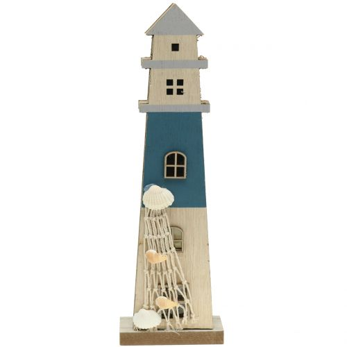 Leuchtturm mit LED 44,5cm