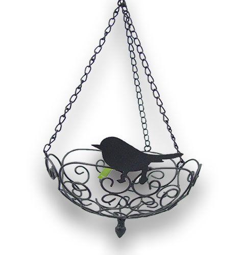 metallh ngekorb h ngeampel cally 26cm grau kaufen in schweiz. Black Bedroom Furniture Sets. Home Design Ideas