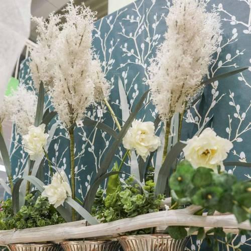 Pampasgras Weiß Künstliche Trockengräser Kunstpflanzen