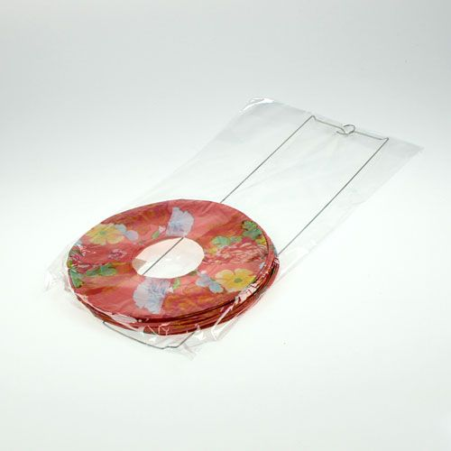 papierlaterne mit muster 18cm h40cm kaufen in schweiz. Black Bedroom Furniture Sets. Home Design Ideas