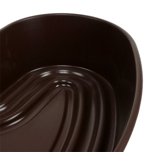 """Pflanzherz """"Amora"""" Braun 35 x 35cm, 1St"""