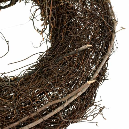 Rebenkranz mit Weide Natur Ø30cm 2St