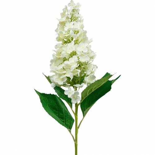 Rispenhortensie Cremeweiß, Künstliche Hortensie, Seidenblume 98cm
