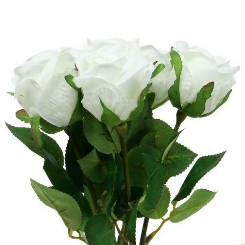 Rose Weiß 44cm 6St