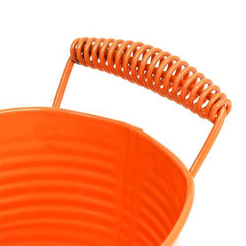 Schale oval Orange 20cm x 12cm H9cm