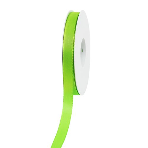 Dekorationsband Apfelgrün 15mm 50m