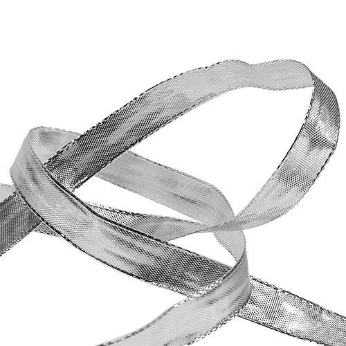 Seidenband mit draht silber 15mm 25m kaufen in schweiz for Silberdraht kaufen