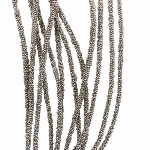 Sukkulenten-Girlande hängend Grün, Bronze-Metallic 140cm