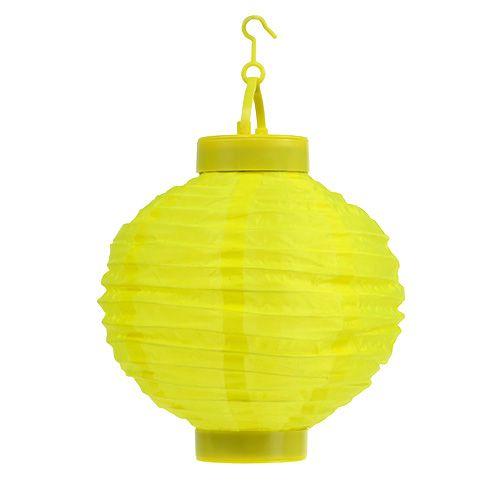 Solarlaterne LED Gelb Ø20cm