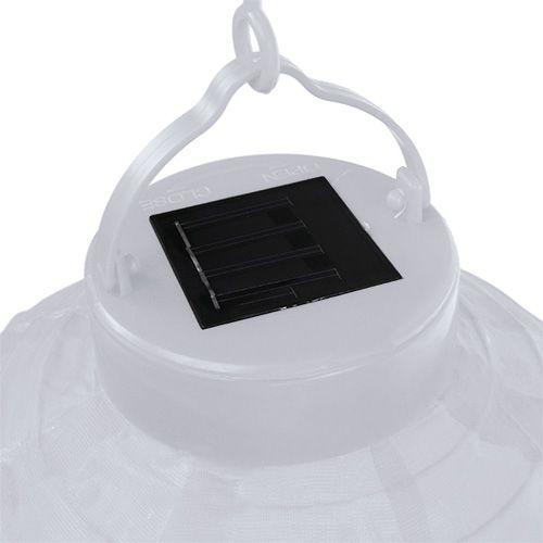 lampion led mit solar 20cm wei kaufen in schweiz. Black Bedroom Furniture Sets. Home Design Ideas