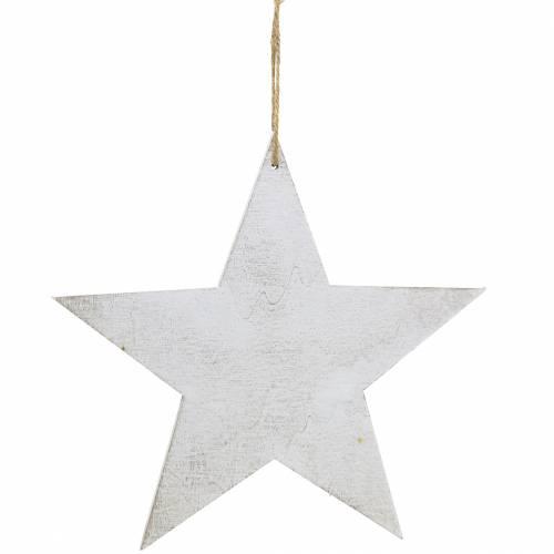 Weihnachtsdeko Deko Stern zum Hängen 30cm 3St
