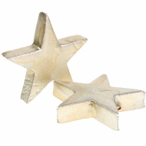 Deko Sterne verschiedene Farben matt 4cm 12St
