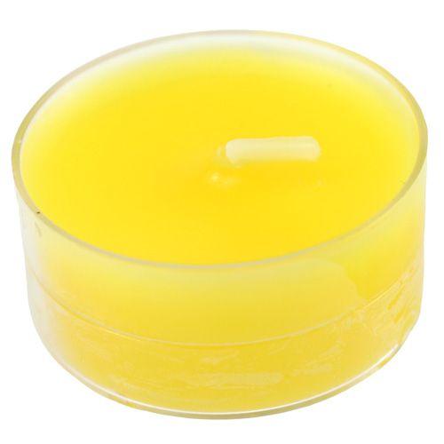 Teelichter Gelb 18St