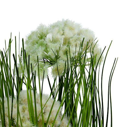 tischdeko deko gras im topf gr n 30cm kaufen in schweiz. Black Bedroom Furniture Sets. Home Design Ideas