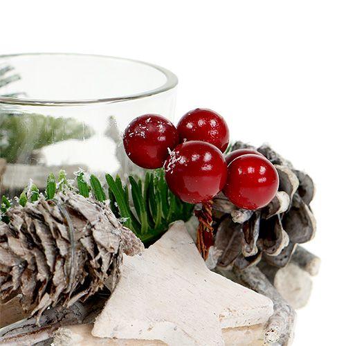 tischdeko weihnachtlich 11cm 2st kaufen in schweiz. Black Bedroom Furniture Sets. Home Design Ideas
