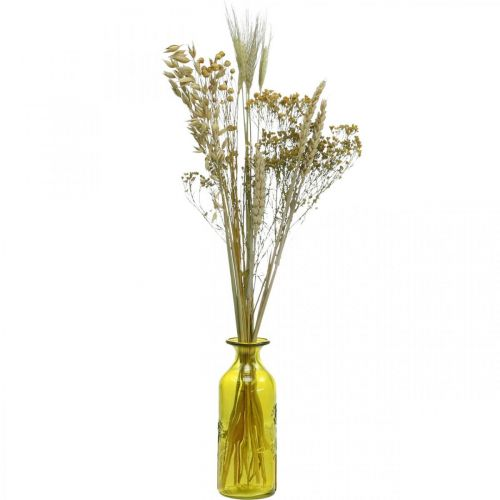 Trockenblumen DIY Set für Trockenstrauß Natur 60cm