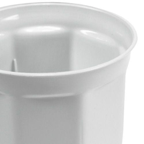 "Übertopf ""Tino"" Weiß Ø10cm - 40cm, 1St"