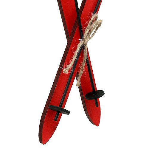 Weihnachtsdeko ski rot 11 5cm 16st kaufen in schweiz - Weihnachtsdeko rot ...