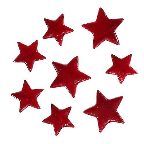 weihnachtssterne mix 4 5cm rot gl nzend 72st kaufen in schweiz. Black Bedroom Furniture Sets. Home Design Ideas
