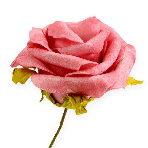 foam rose 8cm rosa 18st kaufen in schweiz. Black Bedroom Furniture Sets. Home Design Ideas