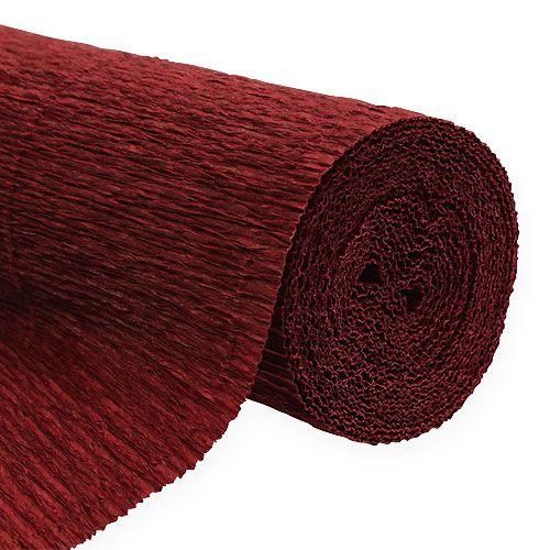 floristen krepppapier bordeaux 50x250cm kaufen in schweiz. Black Bedroom Furniture Sets. Home Design Ideas