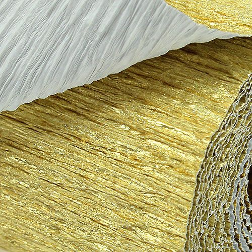 floristen krepppapier gold 50x250cm kaufen in schweiz. Black Bedroom Furniture Sets. Home Design Ideas