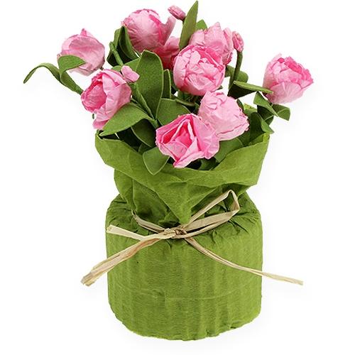 Tischdeko minirosen in rosa 16cm kaufen in schweiz for Tischdeko in rosa