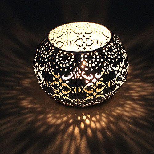 windlicht wei orientalisch 13cm h9cm kaufen in schweiz. Black Bedroom Furniture Sets. Home Design Ideas