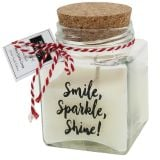 Duftwachs im Glas Smile, Sparkle, Shine!