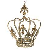 Krone Gold Antik Ø17,5cm H22,5cm