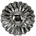 Kerzenhalter Keramik Silber Ø16cm