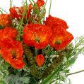 Mohnblumenstrauß Orange 40cm