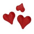 Streudekor Herzen Rot 5-8mm 1000St